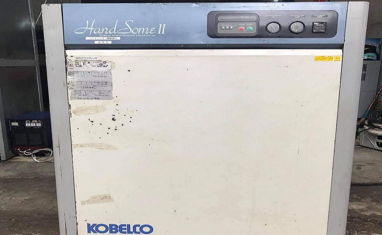 máy nén khí nhật bãi Kobelco 22kW